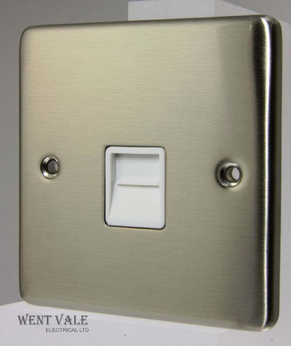 Heritage Brass Gala Elite Range - C55.866.W-S - Secondary Telephone Socket NIB